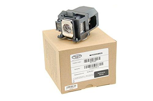 Alda PQ Referenz, Lampe für EPSON 450WI, 455WI, EB-440W, EB-450W, EB-450WI, EB-455W, EB-455WI, EB-460, EB-460I, EB-465I, H318A, H343A, 450W, 460 Projektoren, Beamerlampe mit Gehäuse