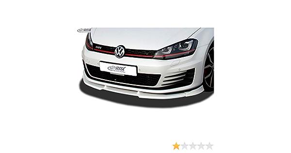 Rdx Front Spoiler Vario X Golf 7 Gti Gtd Front Lip Front Spoiler Lip Auto
