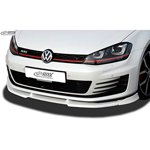 RDX Frontspoiler VARIO-X Golf 7 GTI / GTD Frontlippe Front Ansatz Vorne Spoilerlippe