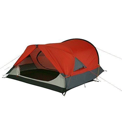 10T Silicone Biker – 2-Personen Touren-Geodät-Zelt mit großer Apsis silikonisiert Alu-Gestänge Packmaß ø18×45 WS=5000mm - 10