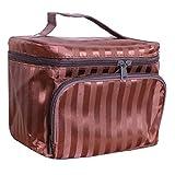 Kosmetik Koffer Mit Großer Kapazität Multifunktions Portable Reisen Größe Hautpflege Produkt Kiste Kosmetika Handtasche Kaffee Farbe