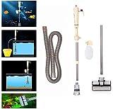 Una Pompa Dell'acqua Dell'acquario Elettrica Cambia Ghiaia Dell'acquario Pulitore Pulitori Dispositivo di Scambio Acqua di Pulizia per Acquari - Senza Batteria