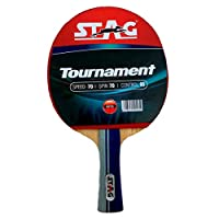 Stag TTRA 324 Tournament Table Tennis Racket, Multi Color