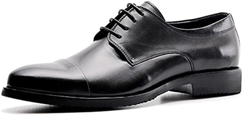Große Größe Business Casual Männer britische Friseur Lederschuhe zeigte koreanische Quaste kleine Schuhe faule
