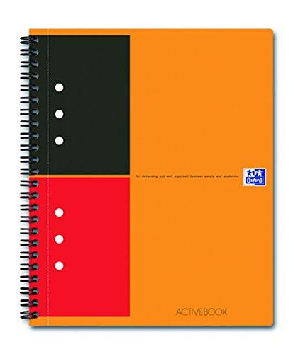 Preisvergleich Produktbild OXFORD 100104067 Collegeblock | International Activebook | A5+ | liniert 6 mm | 12-fach gelocht | 80 g/m² | versetzbares Register | 1 Stück