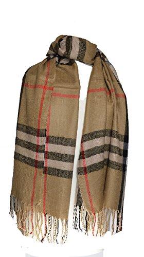 Dick-designer (Luxus groß Dick Karo Designer Stil Plaid Decke Schal)