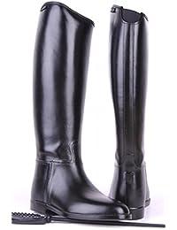 HKM botas de equitación para niños con elástico, color, talla Schuhgrösse 31: Weite= 29, Höhe= 31