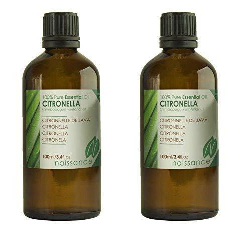 Naissance Citronela - Aceite Esencial 100% Puro - 200ml (2x100ml)