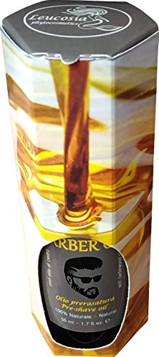 Zoom IMG-1 barber oil olio prerasatura lubrifica
