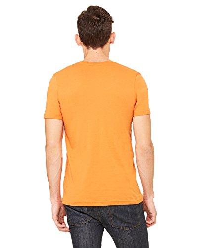 GloriousReturn Bella Canvas Unisex Jersey Short Sleeve Tee Orange - orange
