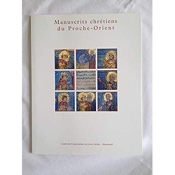 Manuscrits chrétiens du Proche-Orient