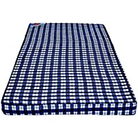 RW REST WELL Foam Mattress 2 inch Single Bed PU Foam Mattress (Extremely Soft and Foldable) | ISO CERTIFIED | Multipurpose Mattress for sleeping on floor, Extra Mattress for Guests, Mattress for Meditation, Exercise, Yoga & Gymnastics (72 X 36 X 2 )