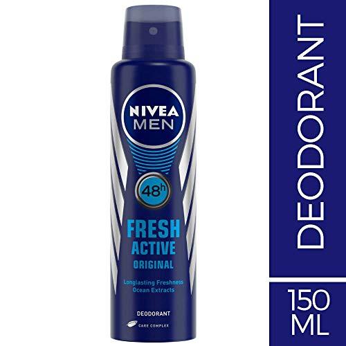 NIVEA MEN Deodorant, Fresh Active Original, 150ml
