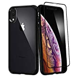 Spigen Coque iPhone XR [Ultra Hybrid 360] Verre trempé Inclus, Résistante, Anti...