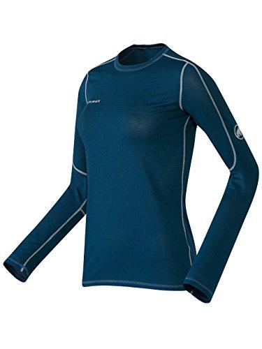 Mammut Damen Langarm T-Shirt Go Dry indigo blue