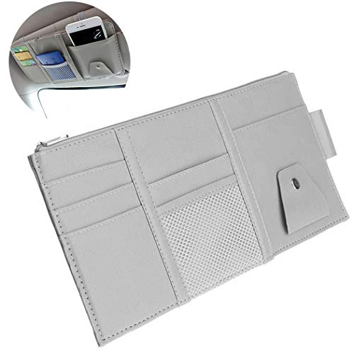 Fansport Sun Visor Organizer Elastic Strap Visier Pocket Visor Holder FüR CD Telefonkarte