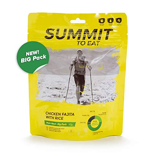 SUMMIT TO EAT Huhn Fajita mit Reis - BIG PACK Gefriergetrocknete Outdoor Nahrung
