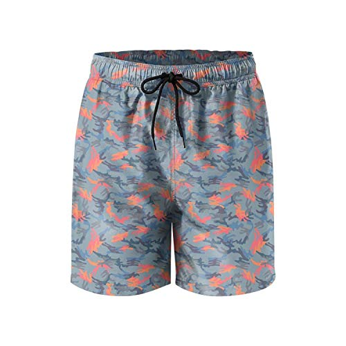 Digital Camo Cargo Short (ZKHTO Custom Digital Yellow camo Quick Dry Man Beach Shorts,Shorts Size XXL)