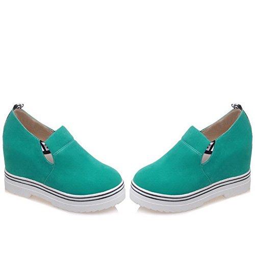 Chaussures Voguezone009 Légeres Mélangées Rond Couleurs Tire Haut Pa1wFqP