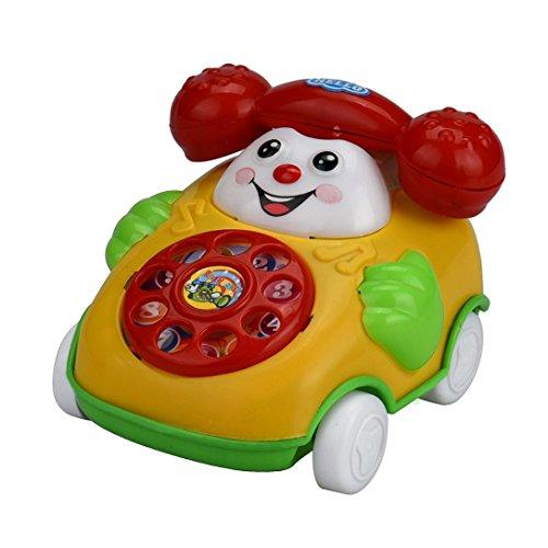 Ouneed® 1pc Enfant Mobile Jouet Manuel Sources (Telephone)