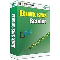 Lantech Soft Bulk SMS Sender (4 Phone Support) - 1 PC, 1 Year (CD)