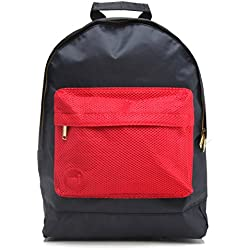 Mi-Pac Gold, Mochila Tipo Casual, 41 cm, 17 Litros, AtinMesh Navy Red