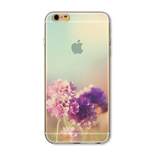 Coque iPhone 6 Plus 6s Plus Housse étui-Case Transparent Liquid Crystal en TPU Silicone Clair,Protection Ultra Mince Premium,Coque Prime pour iPhone 6 Plus 6s Plus-Paysage-style 7 8