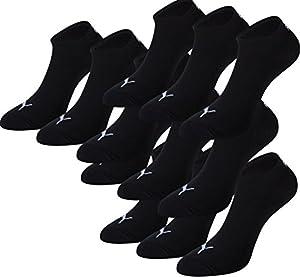 PUMA Unisex Sneakers Socken Sportsocken 12er Pack black 200 - 43/46