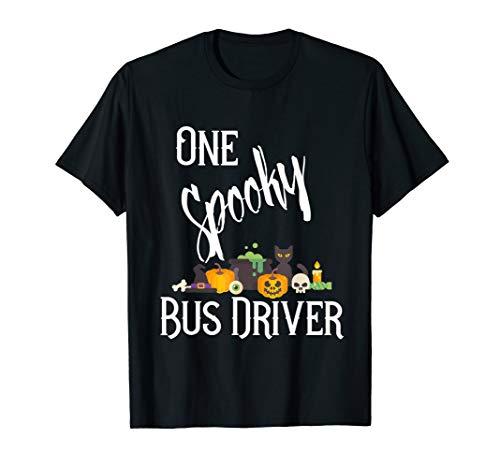 Kostüm Halloween Arbeit - Ein gruseliger Busfahrer Halloween-Kostüm für die Arbeit T-Shirt