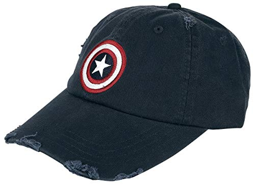 Captain america Logo - Vintage Cap Navy