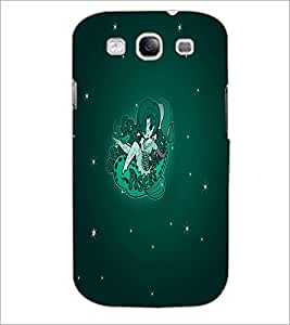 PrintDhaba Zodiac Pisces D-5518 Back Case Cover for SAMSUNG GALAXY S3 (Multi-Coloured)