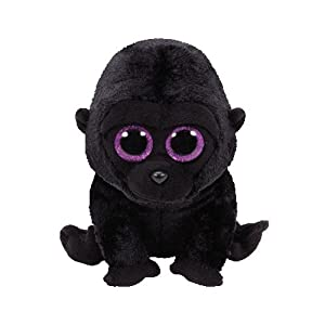 Ty- Peluche, Juguete, Color Negro, 15 cm (United Labels Ibérica 37222TY)