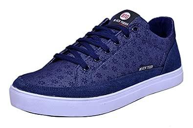 Black Tiger Men's Blue Sneakers-7 UK/India (41 EU) (8084)