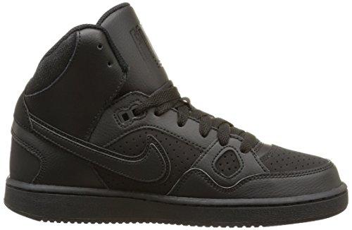 Nike Jungen Son of Force Mid (Gs) Basketballschuhe, Schwarz, Talla Schwarz