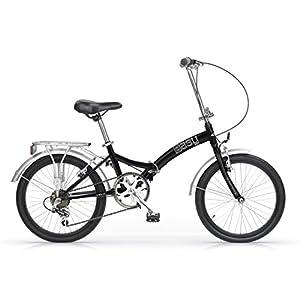 41DYpw1%2Bm9L. SS300 MBM Easy, Bicicletta Pieghevole Oldstyle Unisex Bambini, Nero A01, Taglia Unica