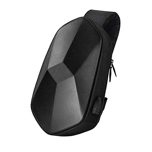KOUPA Polyhedron wasserdichte Sling Bag Multifunktionale Anti-Diebstahl Messenger Bag Casual Fashion Sporttasche Crossbody Rucksack für Damen und Herren -