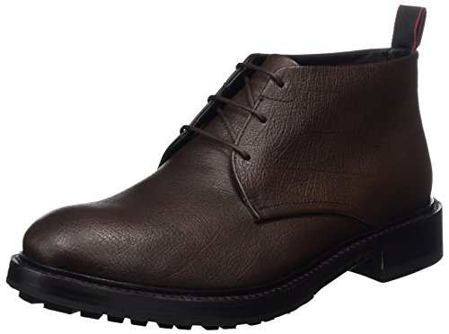 HUGO Herren Defend_halb_gr 10201466 01 Combat Boots Braun (Dark Brown)