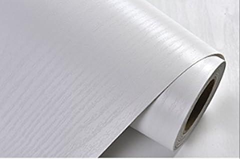GLF Fond D'écran Du Bois Adhésif PVC Imperméable à L'eau Le Papier Peint Lavable Rénovation Autocollant Portes D'armoires De Télévision Mur De Vieux Meubles Et Des Chaises (61 Cm S / Largeur * 500 Cm De Long M / 122 Centimètres Par 500 Centimètres De Large),6-M