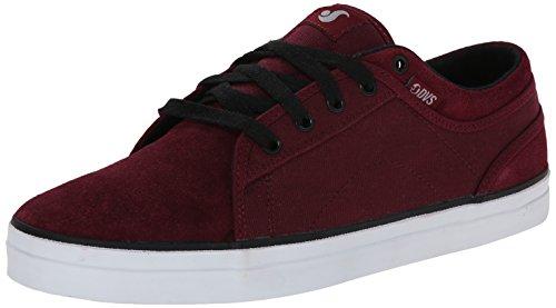 Dvs - Aversa, Red Skateboarding Shoes Para Hombre