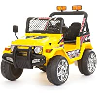 YELLOW 12V BATTERY OPERATED 4x4 style Jeep/Truck