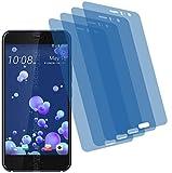 4x Crystal clear klar Schutzfolie für HTC U11 Premium Displayschutzfolie Bildschirmschutzfolie Schutzhülle Displayschutz Displayfolie Folie