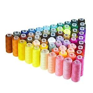 bobinas de hilo: Bobinas de hilo de coser poliéster, de Candora®, multiusos, para coser a mano y ...