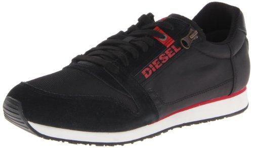 Diesel BLACK JAKE SLOCKER S Y00938P0069 Herren Sneaker, Schwarz (Black T8013), EU - Diesel Jake