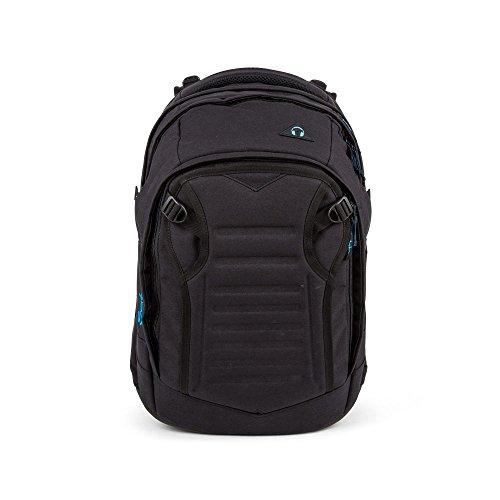 satch Match Facelift ergonomischer Schulrucksack für Teenager - Black...