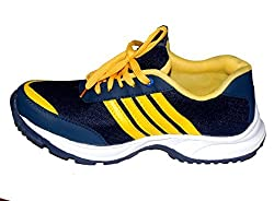 Trend Zone Yellowish cricket shoes