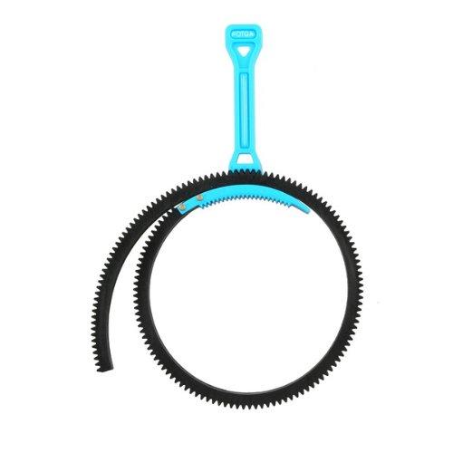 FOTGA Griff Follow Fokus Zoom und Gangschaltungskabel Ring f¨¹r alle DSLR- und Videoobjektive (Blau)