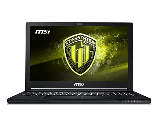 "MSI Workstation WS63 8SJ-013XES 2.2GHz i7-8750H 15.6"" 1920 x 1080Pixel Nero Workstation mobile notebook/portatile"