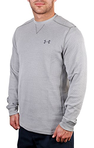 Under Armour amplificare termica camicia True Grey Heather/Graphite