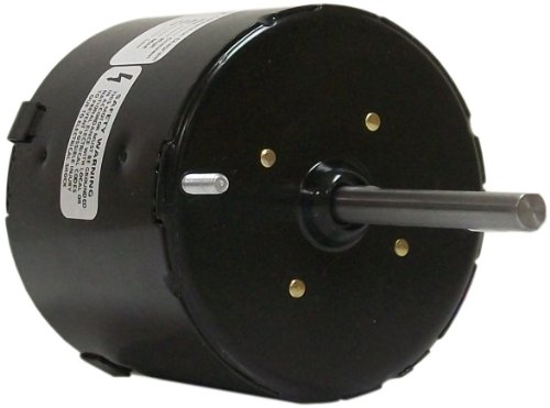 Fasco D1139 3.3-Inch Diameter Shaded Pole Motor, 1/50-1/80-1/125 HP, 115 Volts, 1500 RPM, 3 Speed, 0.88 Amps, CW Rotation, Sleeve Bearing by Fasco -