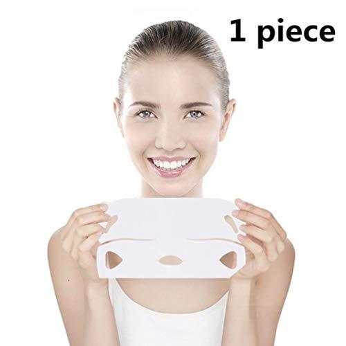 CHOULI Gesichtsmaske Chin Cheek Lifting Face Firming Maske Ohrhänger Hydrogel White -
